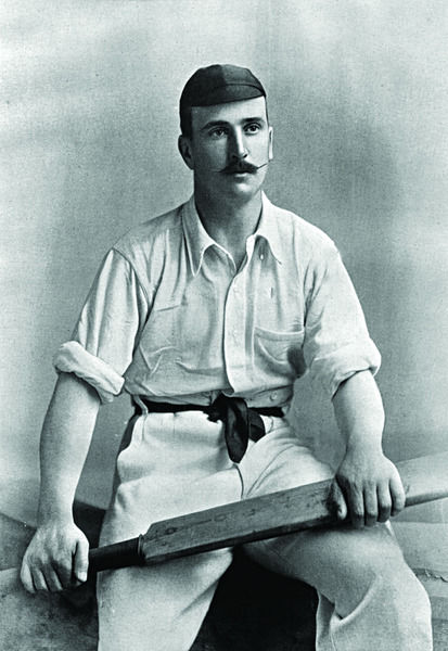 W.R. TROUP CRICKETER - GLOUCESTERSHIRE