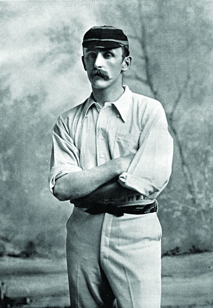 G.G. WALKER CRICKETER - DERBYSHIRE