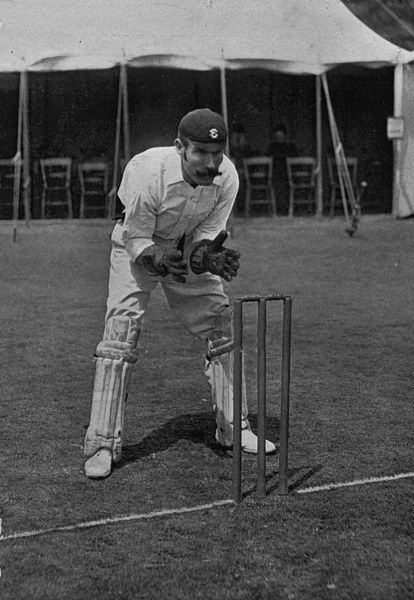 HENRY WOOD CRICKETER - SURREY