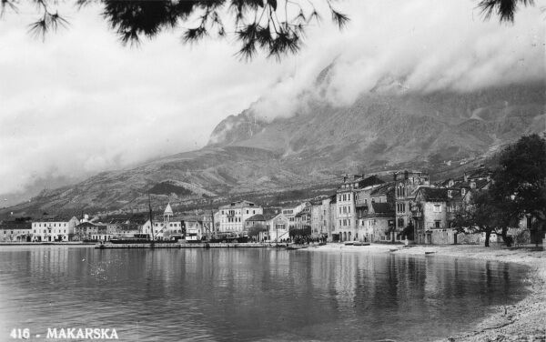 Croatia - Makarska. During World War Two, Makarska was part of the Independent State of Croatia. It was a port for the nation's navy and served as the headquarters of the Central Adriatic Naval Command