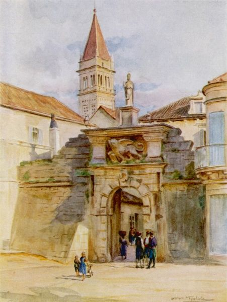 Trogir: one of the gates