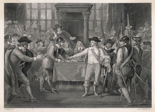 Cromwell dissolves the Long Parliament
