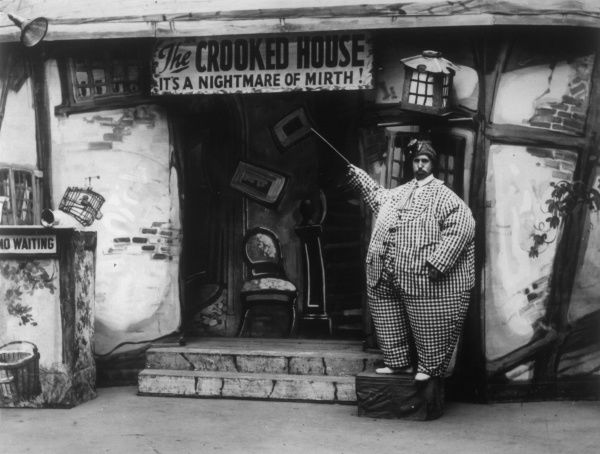 'Crooked House' at Butlins Amusement Park, and fairground Felixstowe