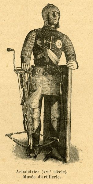 A 16th century French crossbowman