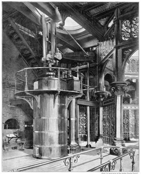Crossness Pumping Station - interior