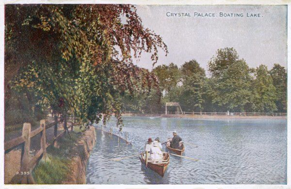 The picturesque boating lake is a popular feature of the Palace grounds
