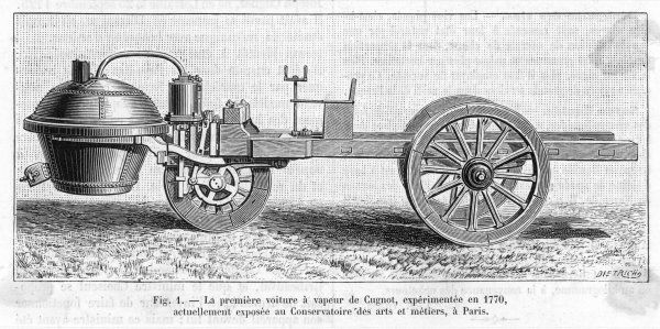 Cugnot's steam carriage