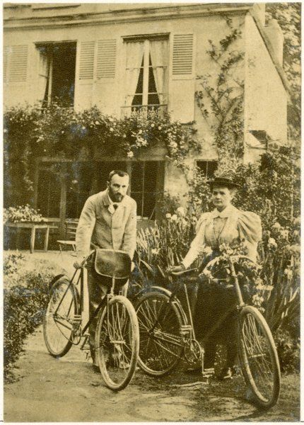 MARIE AND PIERRE CURIE The two scientists set out on a Sunday afternoon cycle ride