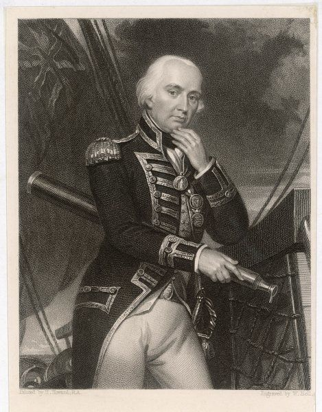 LORD CUTHBERT COLLINGWOOD English naval commander. Took command on Nelson's death at the Battle of Trafalgar in 1805