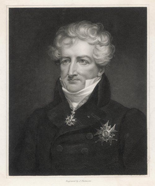 GEORGES, BARON CUVIER French naturalist