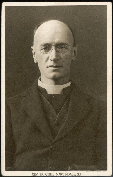 CYRIL CHARLIE MARTINDALE Jesuit priest, preacher and writer ; a fashionable converter in the 1920s ; supported Franco in the Spanish Civil War
