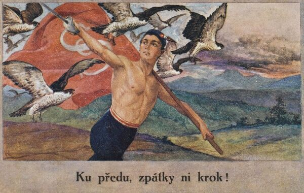 A rally to promoting public exercise as a way to stimulate national self importance (through organised gymnastic and athletic demonstrations - usually mass-participation). Sokol was founded on the philosophy that a physically fit, mentally alert
