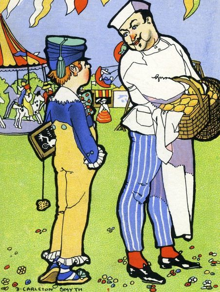 Simple Simon met a pieman going to the fair... 20th century