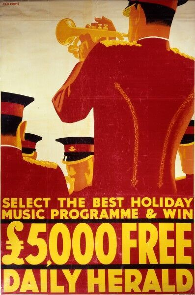 Daily Herald competition poster to win 5000 by selecting the best holiday music programme