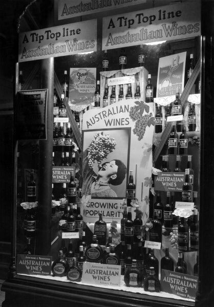 Daily Mail Home Exhibition - An exhibit promoting the wines of Australia Date: circa 1930s