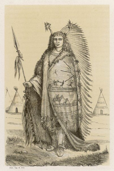Chief of the Dakota people