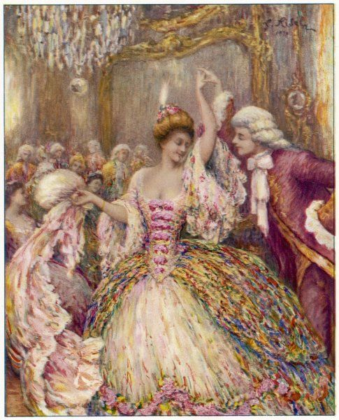 Dancing to a minuet by Rameau in pre-revolutionary France