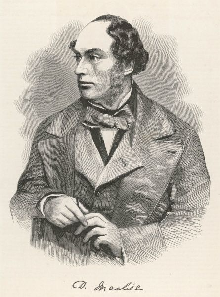DANIEL MACLISE Irish artist : we have many wonderful portraits by him done for Fraser's magazine