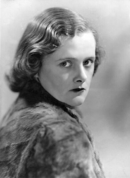 "DAPHNE DU MAURIER English writer and novelist, author of ""Rebecca"" and ""Jamaica Inn&quot"