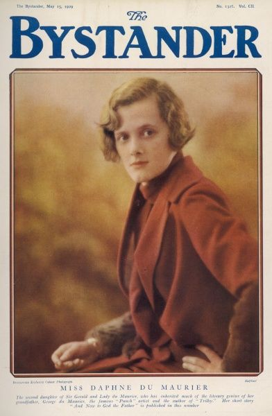 "DAPHNE DU MAURIER English writer and novelist. Author of ""Rebecca"" and ""Jamaica Inn"" and famous resident of Cornwall"