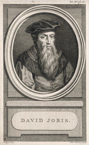 DAVID JORIS Flemish artist and anabaptist