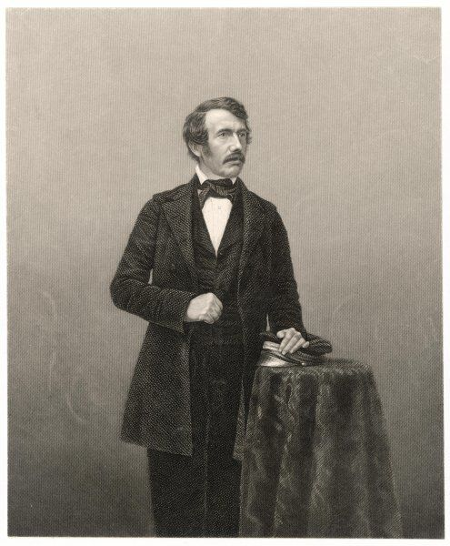 DAVID LIVINGSTONE Scottish missionary and traveller in central Africa