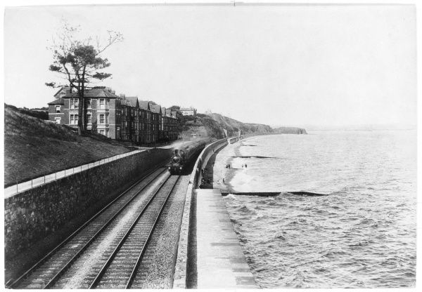 Dawlish seafront The Great Western Main Line Devon