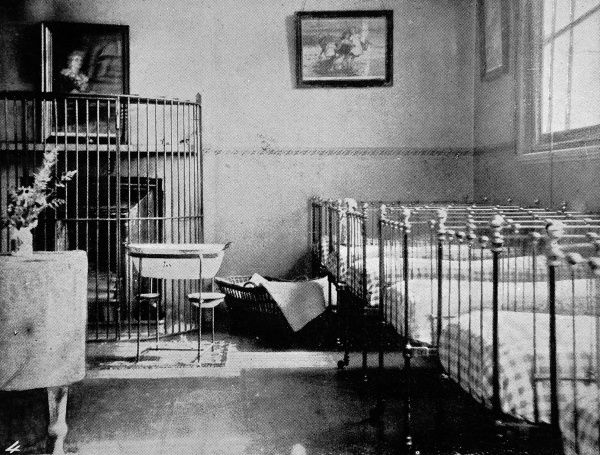 A day nursery in Holloway, a women only prison where babies who were either born there or were under three months when their mothers were jailed were cared for in prison