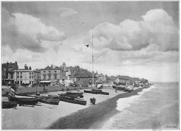 The sea-front at Deal, Kent