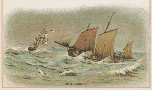 Lugger of Deal, Kent