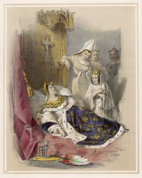 The death of Anne of Bohemia