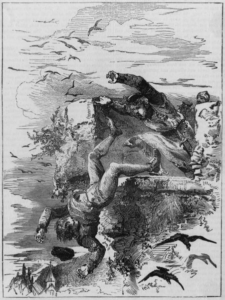 Conan, a burgess (political official) of the city of Rouen, is thrown from the top of a high tower by Henry, brother of William II (Rufus) of England