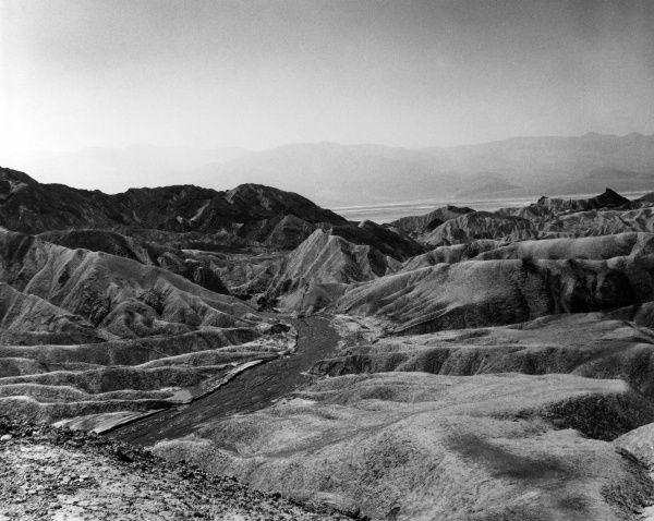 Death Valley, south California, U.S.A. Date: late 1960s