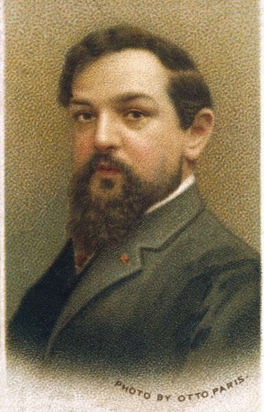 CLAUDE DEBUSSY French composer