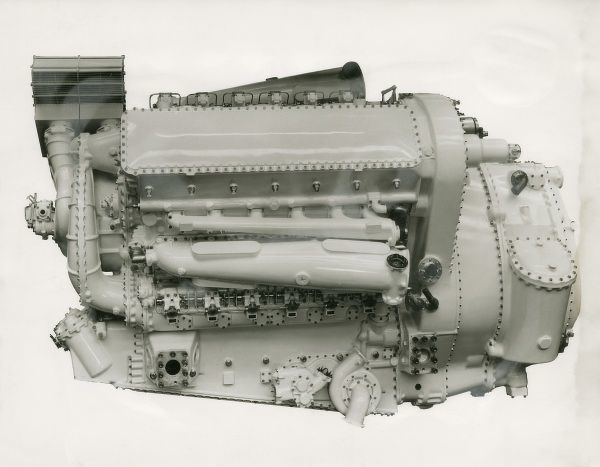Deltic 18-7A engine used in minesweepers Date