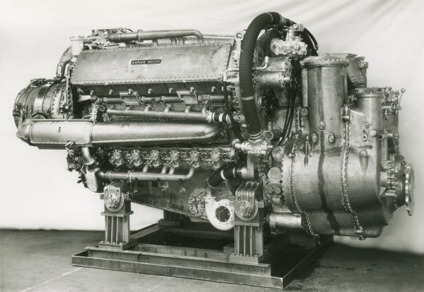 Deltic Marine Compound engine Date: 1957