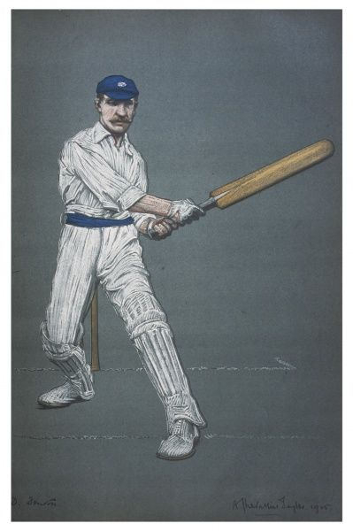 David Denton - cricketer for Yorkshire Date: 1905