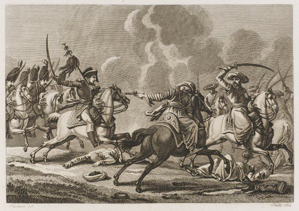Near the mouth of the Nile, colonel Devaux routs an Ottoman force