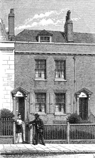 HIS BIRTHPLACE 387 Mile End Terrace, Commercial Road, Landport, Portsmouth Date: 1812 - 1870