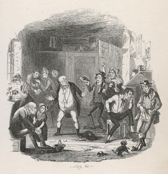 Mr Pickwick - founder and Chairman of the Pickwick Club. Mr Pickwick finds himself in prison