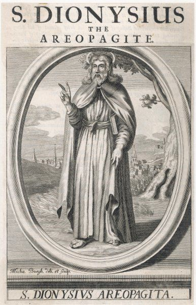 ST DIONYSIUS THE AREOPAGITE Converted by Paul on the Areopagus, he became the first bishop of Athens but was martyred by Domitian