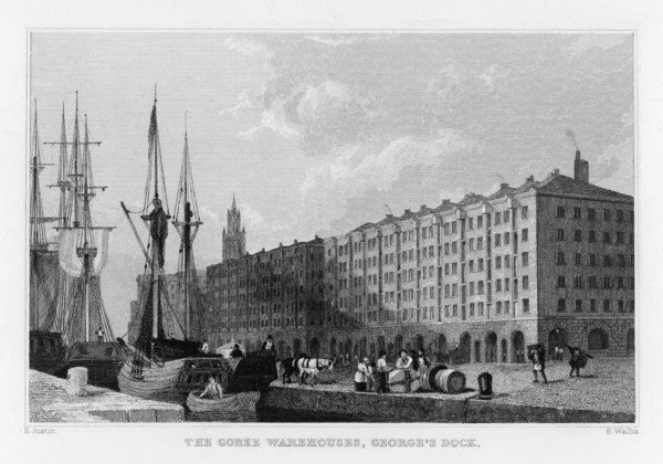 The Goree Warehouses, George's Dock, Liverpool