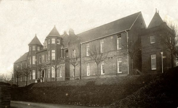 Infirmary of the Dorking Union workhouse, Surrey. The workhouse opened in 1841, with the infirmary being added in 1900. The site later became Dorking General Hospital