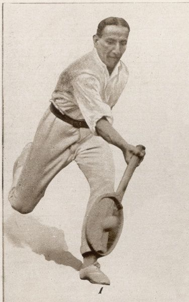 Indian tennis player, Dr A H Fyzee, one of the players in the 41st Wimbledon lawn-tennis championship in 1921