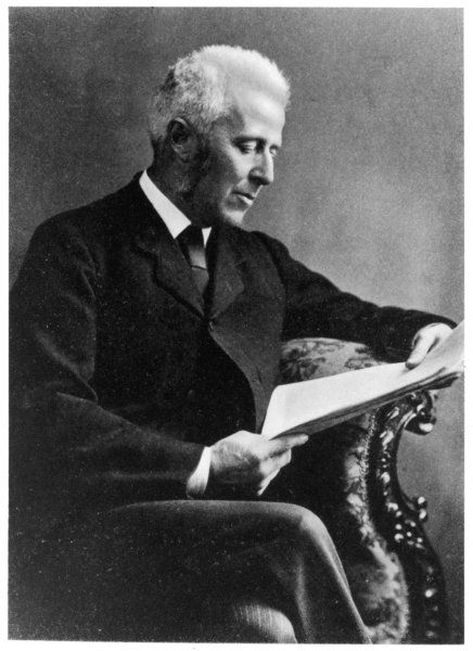 Dr JOSEPH BELL surgeon at Edinburgh University school of medicine where he taught Conan Doyle and inspired the character of Sherlock Holmes