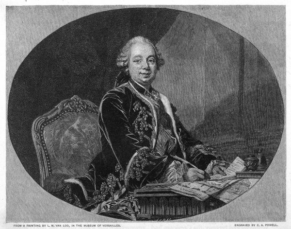 ETIENNE FRANCOIS, DUC DE CHOISEUL French statesman, minister of foreign affairs for Louis XV