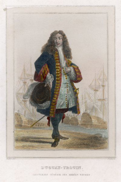 RENE DUGUAY-TROUIN French naval commander