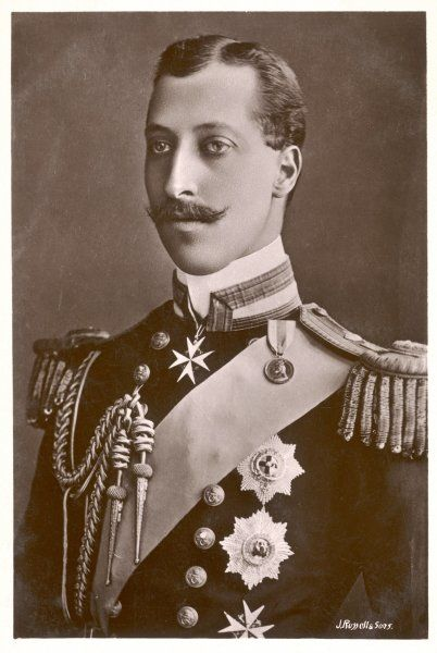ALBERT VICTOR, DUKE OF CLARENCE AND AVONDALE Elder son of Edward VII, died of pneumonia at the age of 28