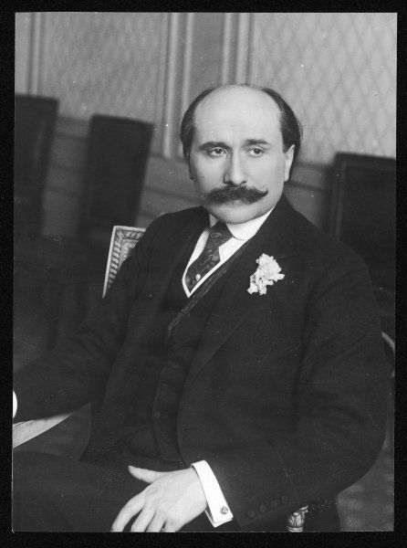 EDMOND ROSTAND French playwright