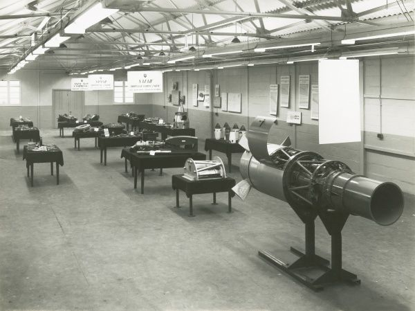 Research Station Park Royal GTCC exhibition E127, popularly known as Nymph, on display Date: 1946
